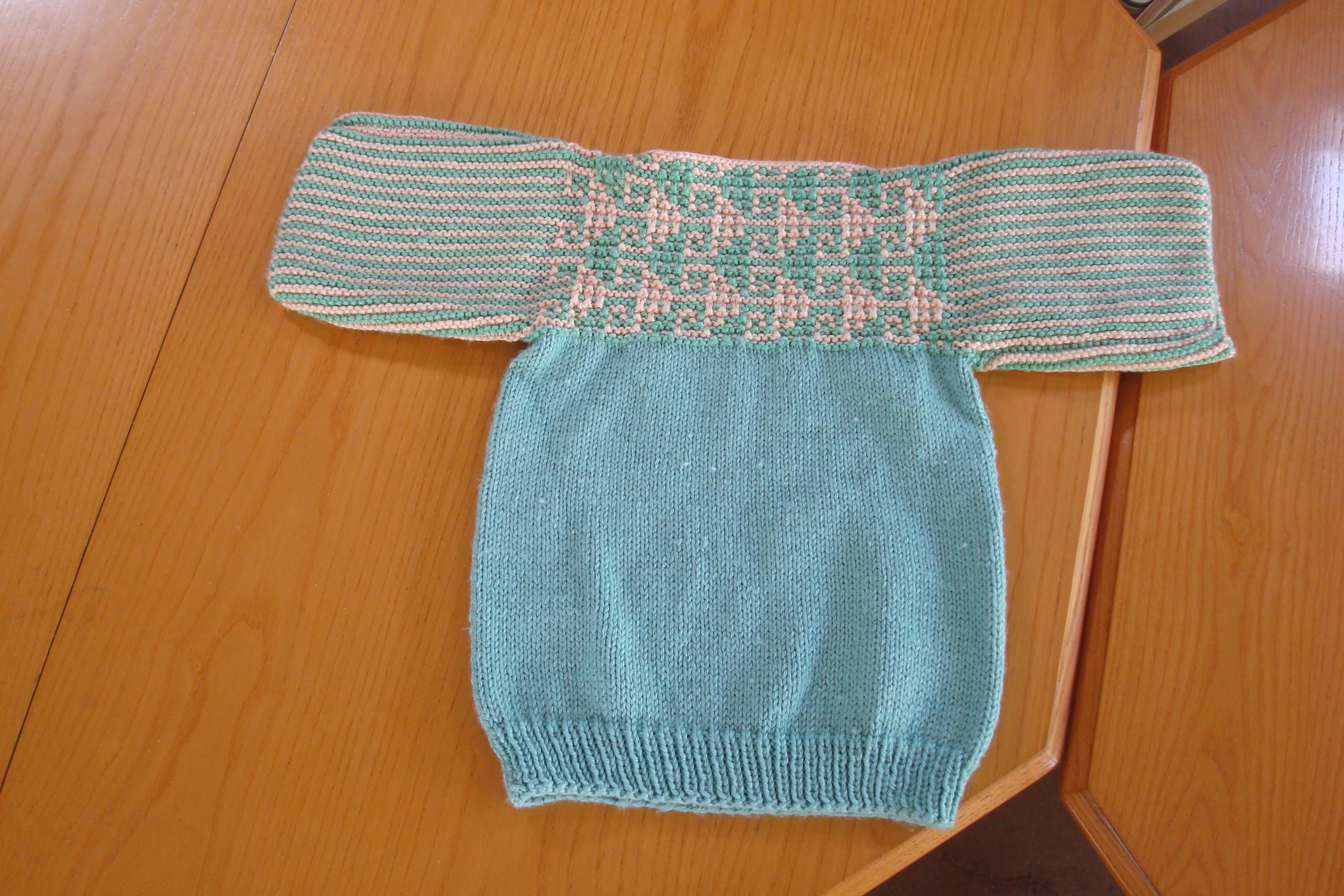 Guidepost's Knit for Kids Sweater with a Twist