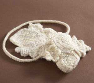 Lion Brand Publishes My Freeform Crochet Purse Pattern