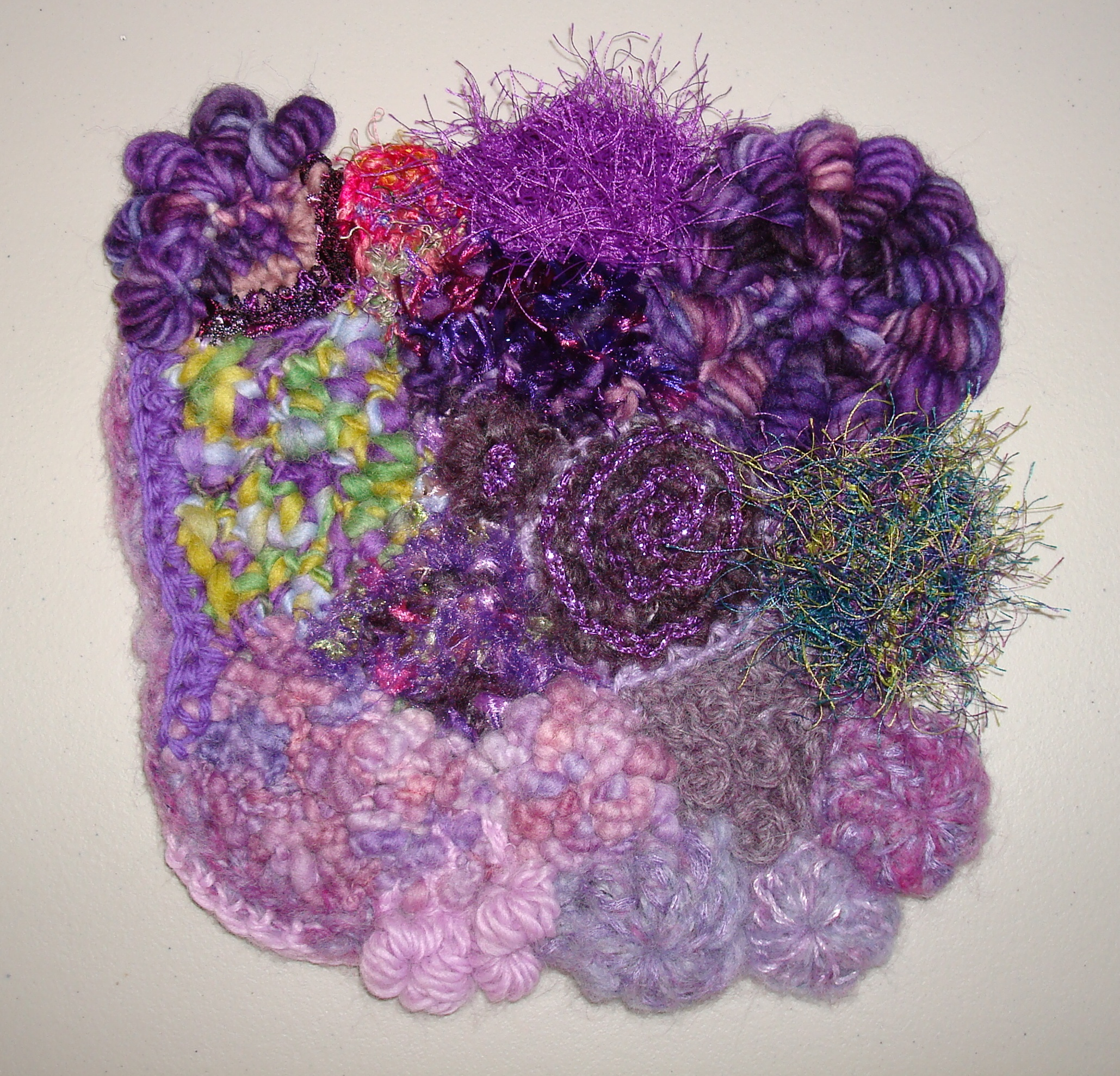 """Through Our Eyes"" – New International Freeform Fiber Guild Project"