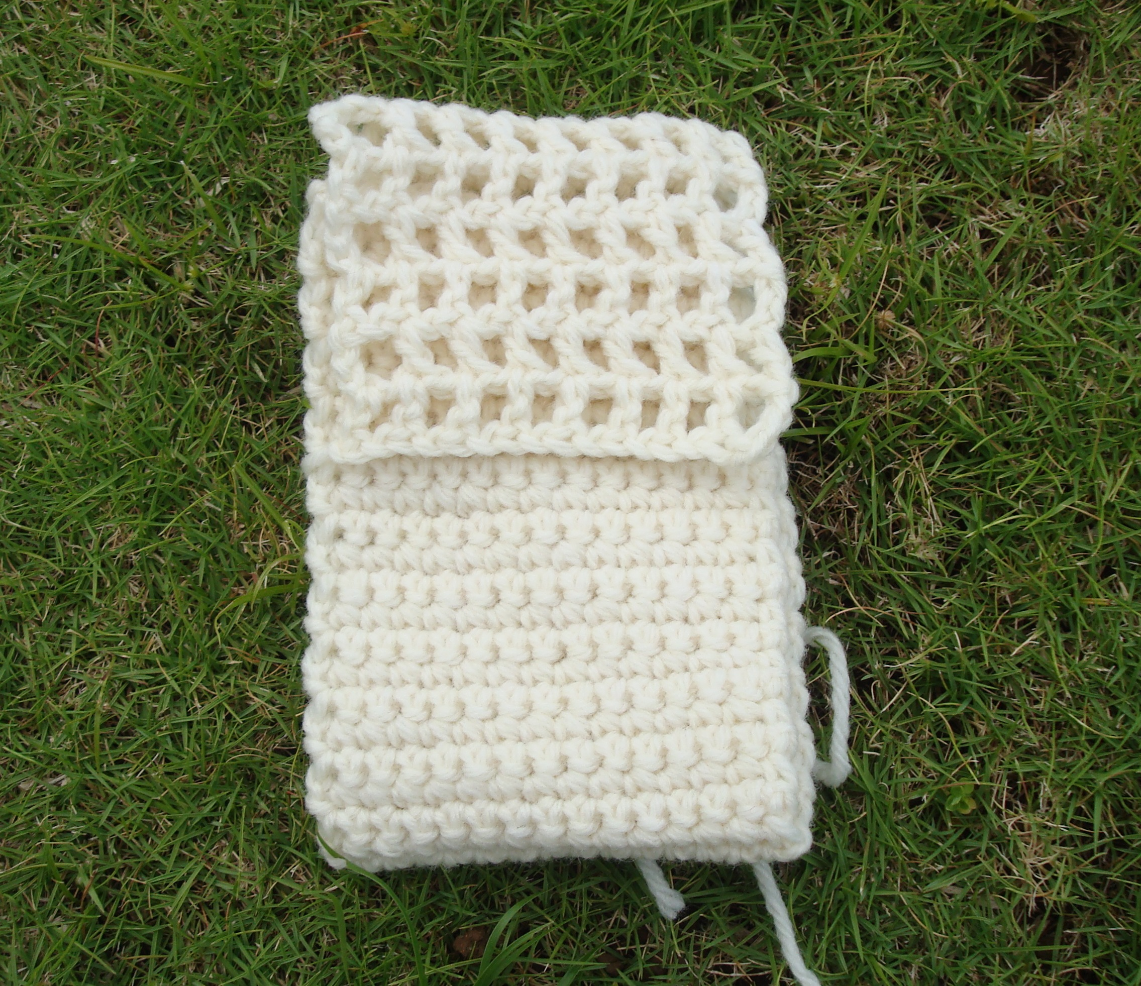 Monochromatic Freeform Crochet Purse – Part 2: The Purse