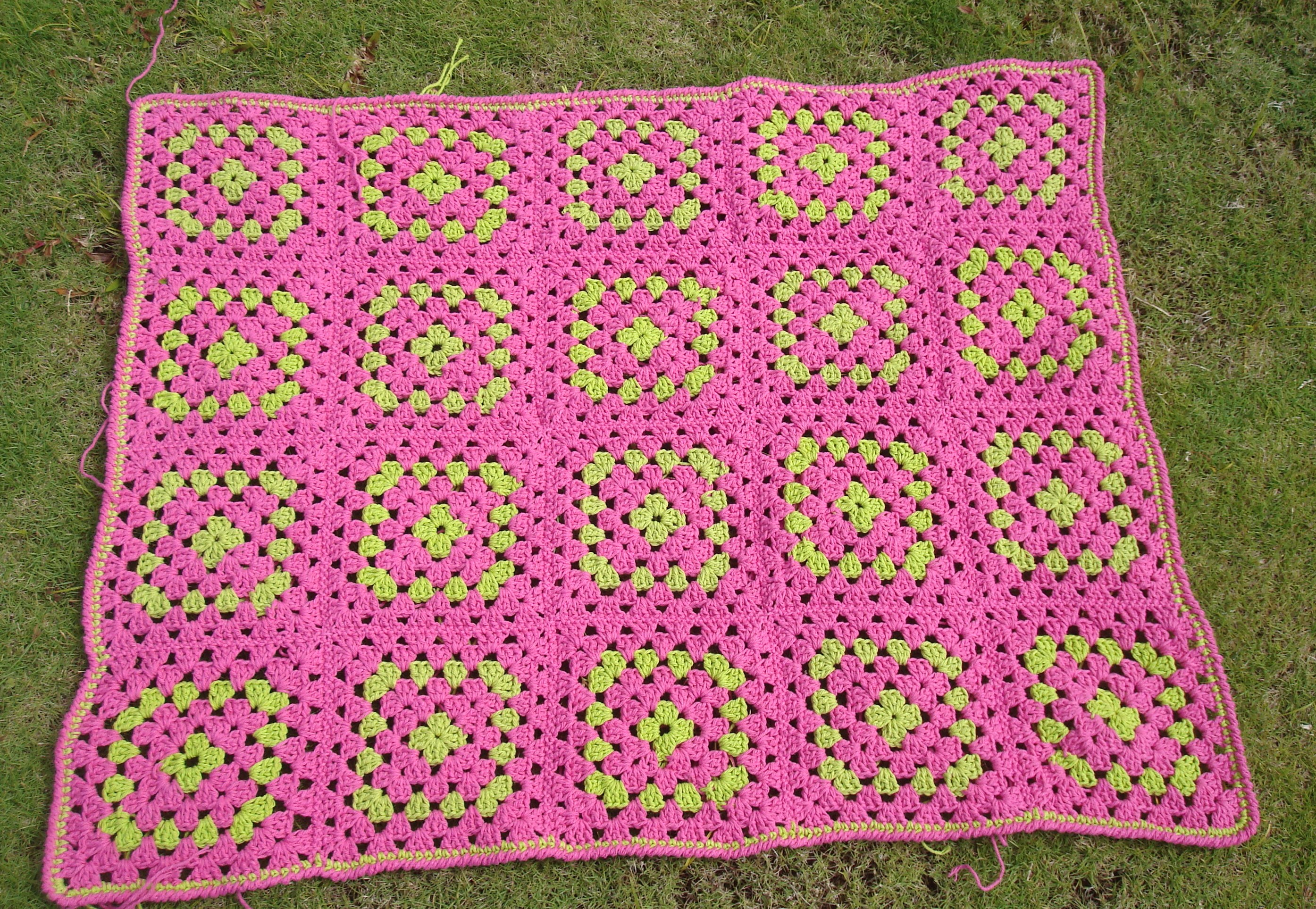 A Hastily Made Granny Square Baby Blanket Leads to Some Nice Refinements
