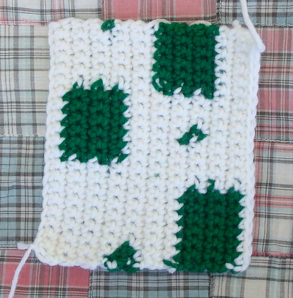 Learning to crochet by numbers