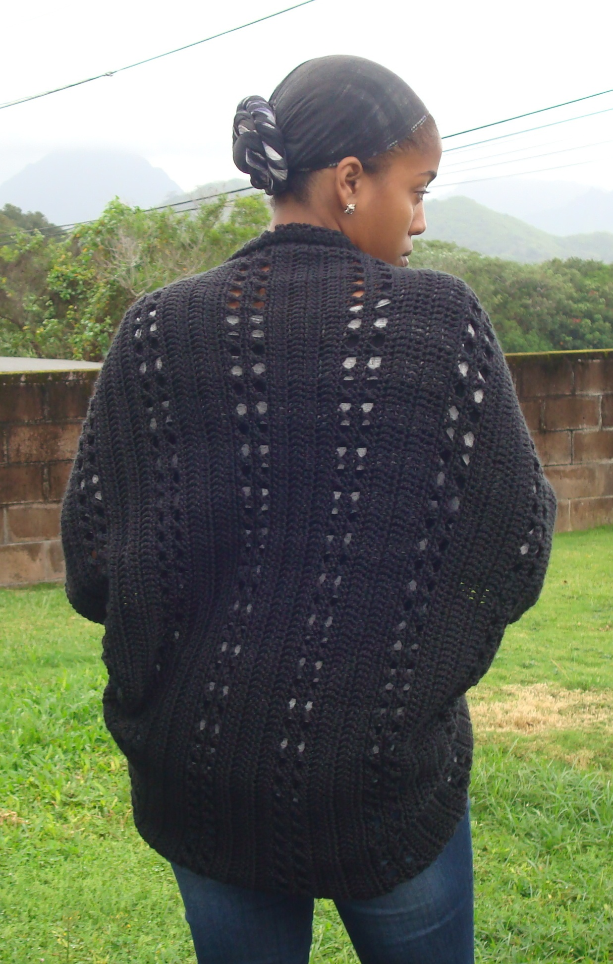 Deanna Young's Crochet X-Stitch Shrug