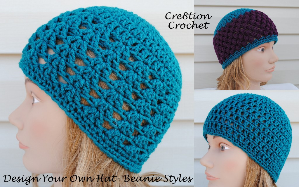 Designing Your Own Custom Crochet Hat | Yarn Over, Pull Through