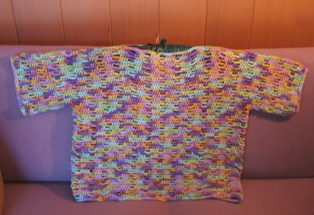 My finished crochet top