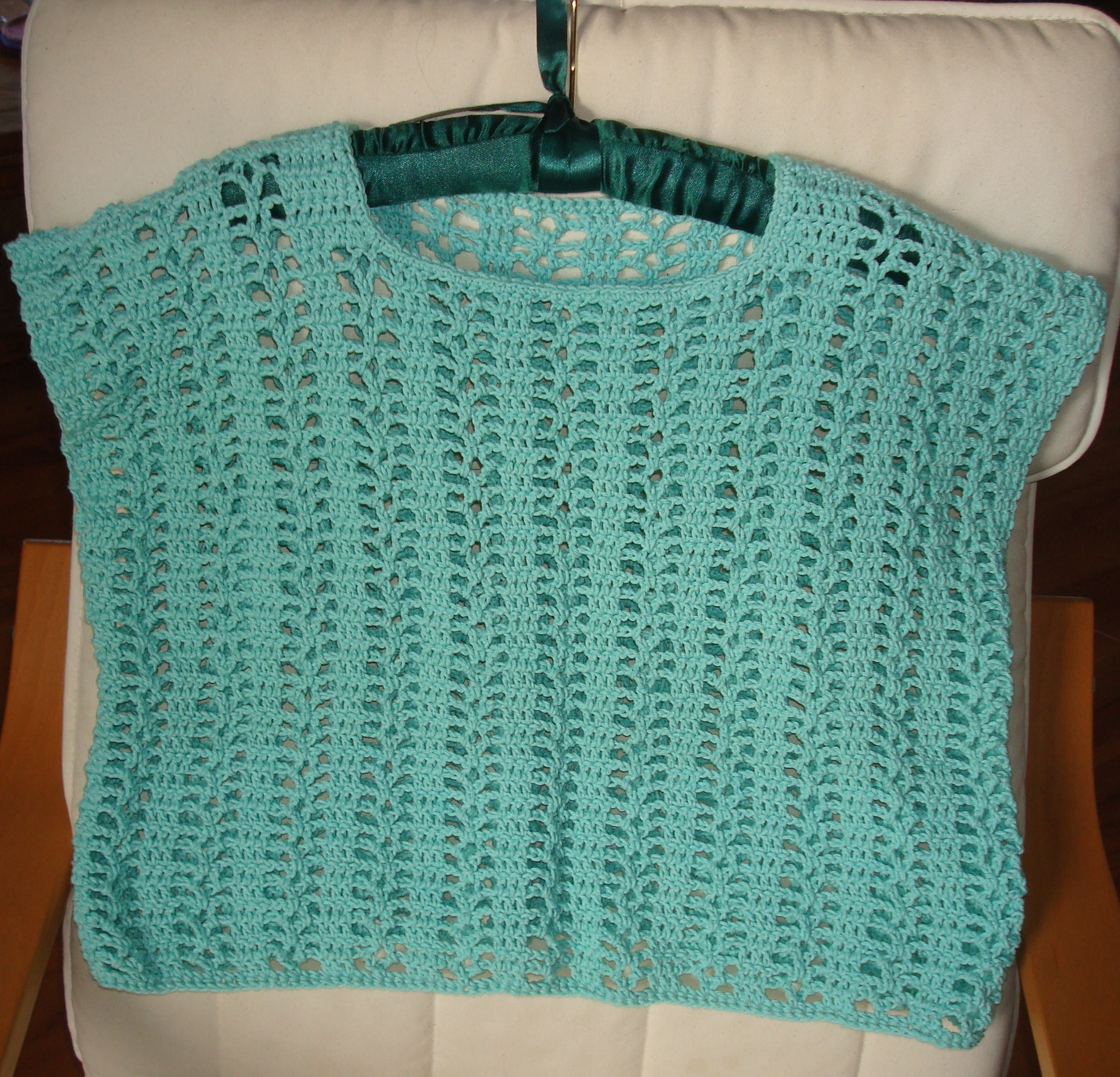 Crocheted Cropped Summer Top Pattern