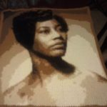My customer, Karen Hodges, crocheted this beautiful piece of her mother.