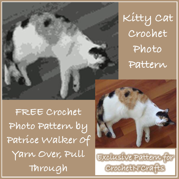 Free Kitty Cat Crochet Photo Pattern