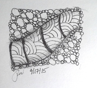 I've Caught the Zentangle Bug!