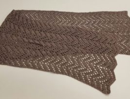 Chevron Lace Wrap – A Commissioned Crochet Project